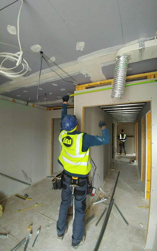 Marshall Construction Loaning Road insulation ceilings finishes kitchens bathrooms joiner installation JAD Joinery