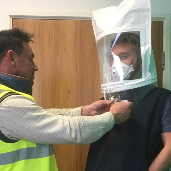 Face Fitting day at JAD Joinery