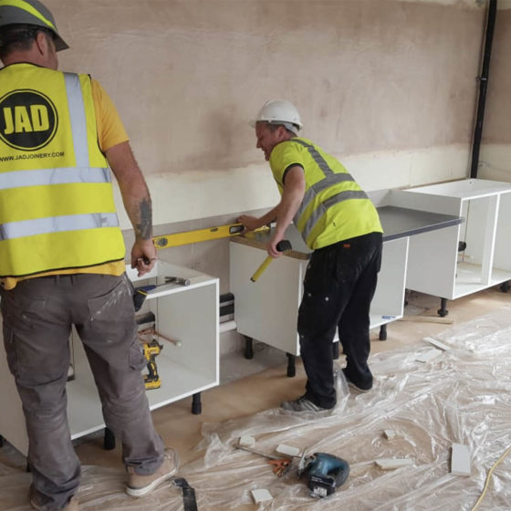 JAD Joinery Maxi Construction Ltd Extensive Fit Out Refurbishment Langlees Primary School 1