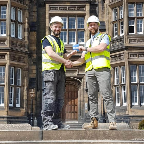 JAD Joinery New House Builds commercial joiners Employee of the Month – April