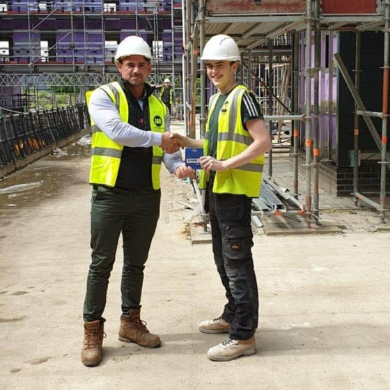 JAD Joinery Employee of the Month – May