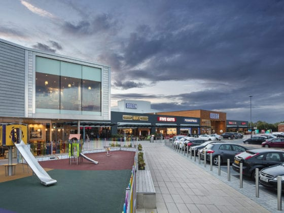 JAD Joinery complete retail unit Fit Outs at Fort Kinnaird Retail Park Edinburgh