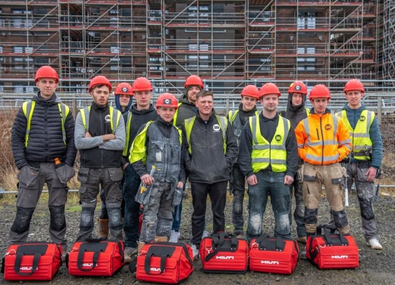 JAD Joinery new house build joiners Apprentices & Managers 1