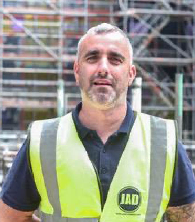 JAD Joinery Edinburgh Contracts Manager Murray McCormack