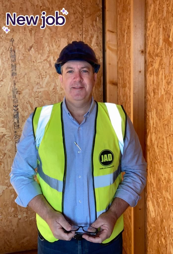 JAD Joinery Ltd's recruitment drive continues this month with the arrival of Supervisor John Hilton. With almost 30 years experience working throughout the Fit out, Refurb & Housing sectors we are pleased to welcome him aboard and all wish him well in his new role